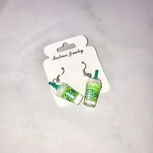 NEW Starbucks matcha Drink earrings